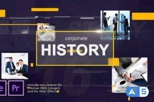 Videohive Corporate History 28040478
