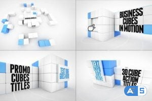 Videohive Transforming Cube Titles 27932917