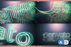 Videohive Electric Neon Intro 22136345