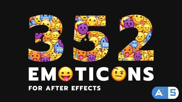 Videohive Emoticon – Animated Emojis Pack 28314889