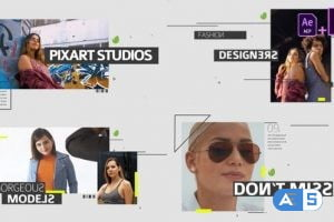 Videohive Fashion Media Opener Mogrt 28207458