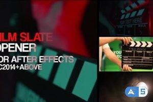Videohive Film Slate Openers 25021877
