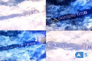 Videohive Cinematic Sky Titles 27834997