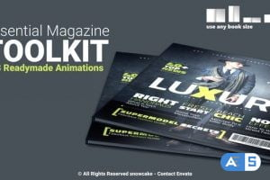 Videohive Essential Magazine Toolkit 25789830