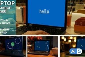 Videohive Animated Laptop Opener 20970542