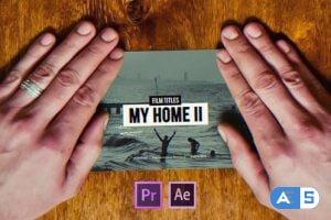 Videohive Film Titles Slideshow | My Home II 24231147