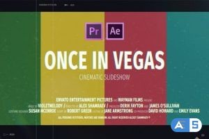Videohive Cinematic Slideshow | Once In Vegas 24577742