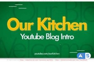 Videohive Our Kitchen – Cooking Blog Opener 27981631