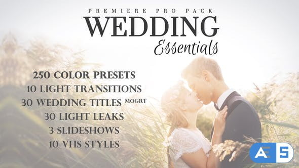 Videohive Wedding Essentials Pack for Premiere Pro 28150015