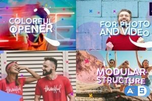 Videohive Colorful Opener   After Effects 28344895