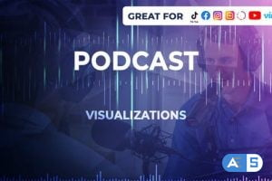 Videohive Podcast Visualizations 26390691