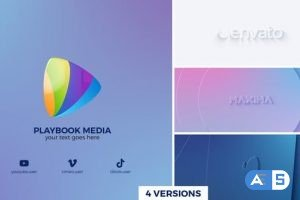 Videohive Clean Geometry Logo Reveal 27380466