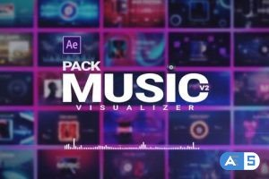 Videohive Music Visualizer Pack V2 26261391