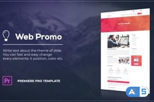 Videohive Soft Website Promo 27955613