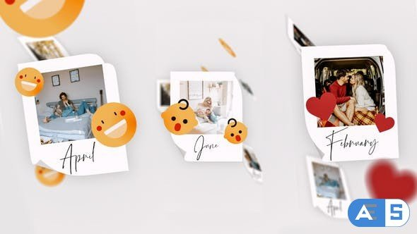 Videohive IGTV – Simple Memories Slideshow 28015238