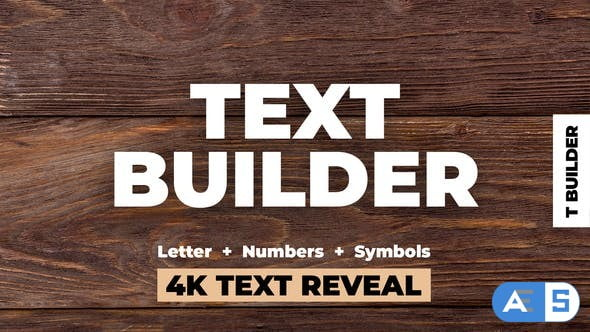 Videohive Text Builder 24872699