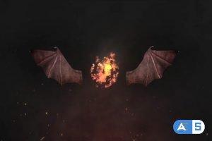 Videohive Demonic Fire Logo 28139240