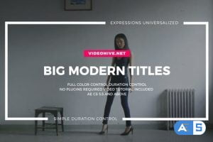 Videohive Big Typo Titles 22344292