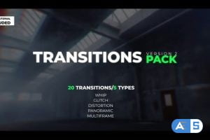 Videohive Transitions Pack V.2 21878170