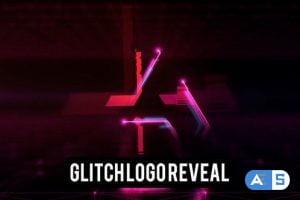 Videohive Glowing Glitch Logo 23231368