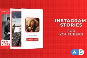 Videohive Instagram Stories for YouTubers 28095962
