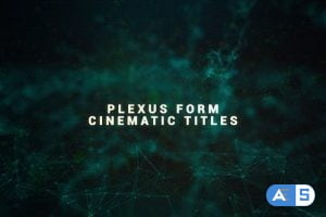 Videohive Plexus Form Cinematic Titles 22511287