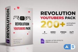 Videohive Revolution Youtubers Pack 27209829