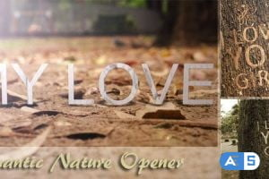 Videohive Romantic Nature Opener 4719502