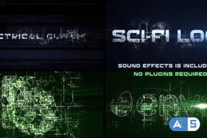 Videohive Sci-Fi Electrical Glitch 12627271