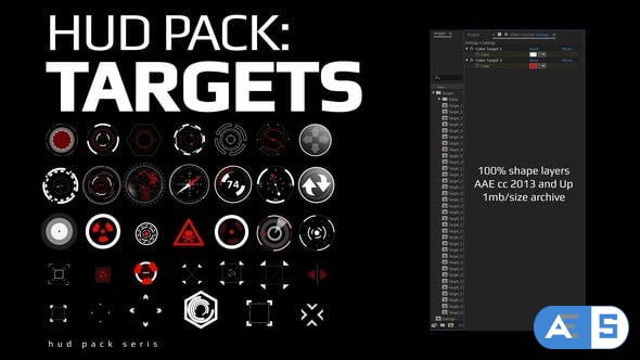 Videohive Hud Pack – Targets 28202656
