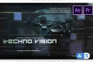 Videohive Techno Vision Parallax Slideshow 28253277