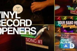 Videohive Vinyl Record Openers 22493384