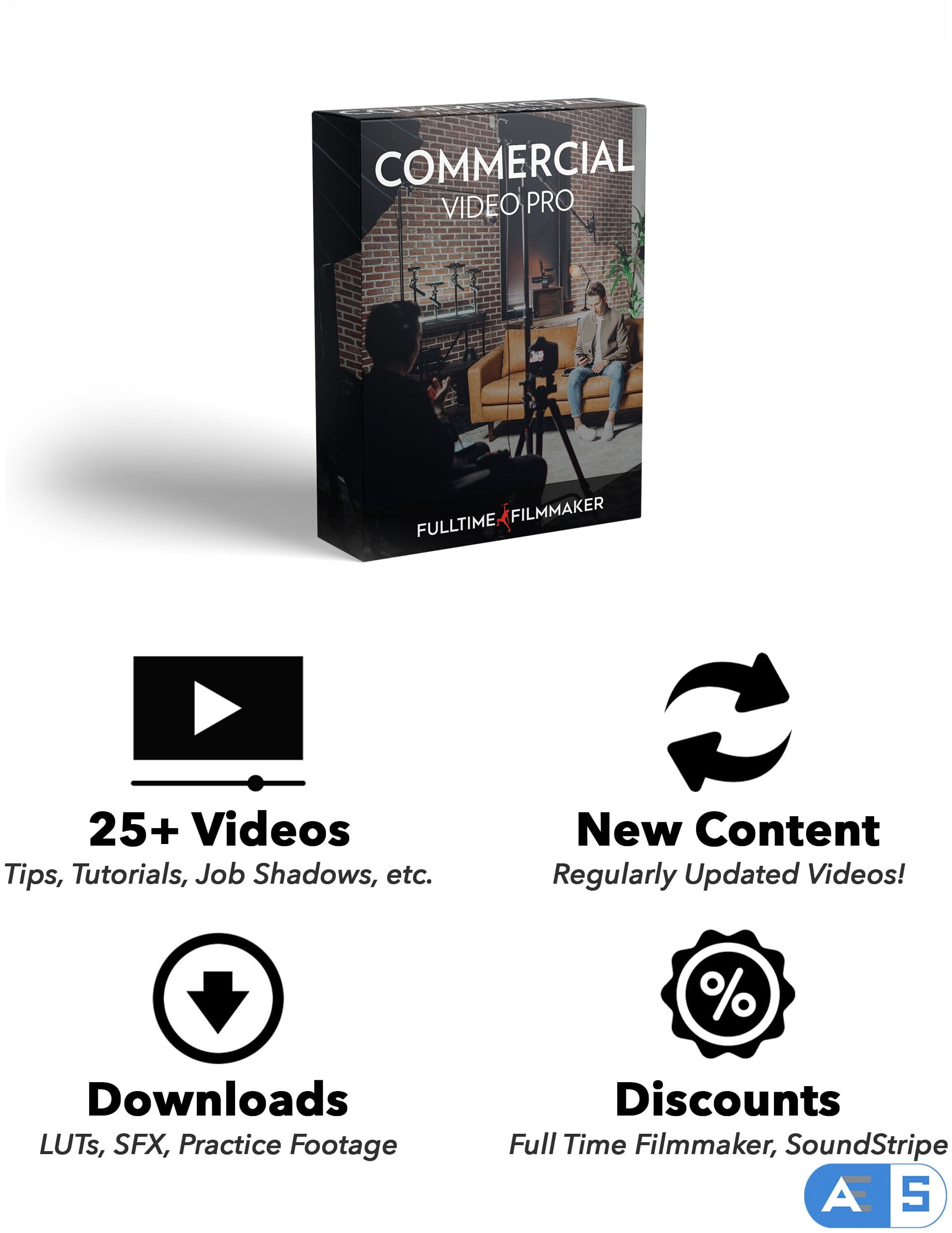 COMMERCIAL VIDEO PRO – FULLTIME FILMMAKER
