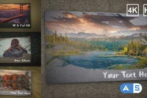 Videohive Paint Brush Paper Slideshow 16360003