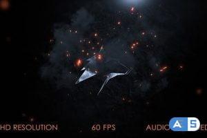 Videohive Fire Logo Intro 27909703
