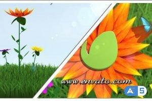 Videohive Flower Logo/Text Opener 6618406