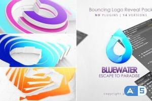 Videohive Bouncing 3D Logo Reveal 27859474
