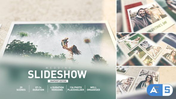 Videohive Wedding Memories Album Slideshow 27538847