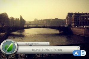 Videohive Silver Lower Thirds 1120644