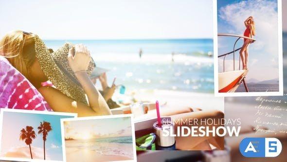 Videohive Summer Holidays Slideshow 27669627