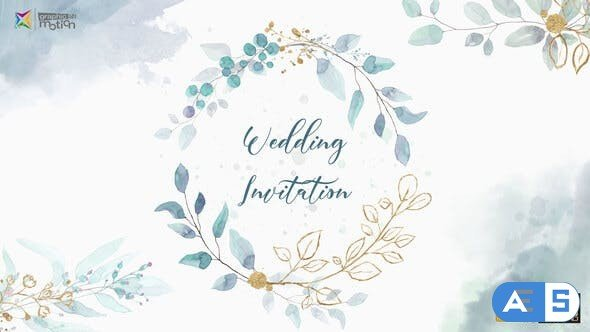 Videohive Wedding Invitation 28023914