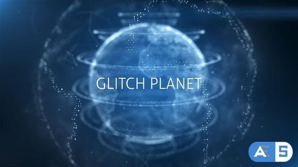 Videohive Glitch Planet 19500093
