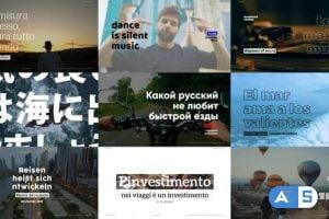Videohive Motion Typography – Typography Promo 27749660
