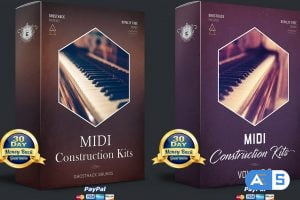 Ghosthack Sounds MIDI Construction Kits Volume 1-2 MiDi-DISCOVER