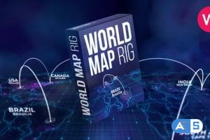 Videohive World Map Rig V2 27809779