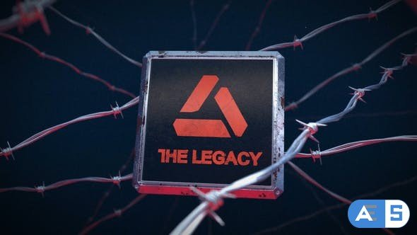 Videohive The Legacy – Crime Logo Reveal 24401424