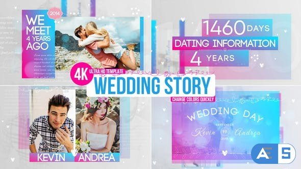 Videohive Wedding Story 22460320