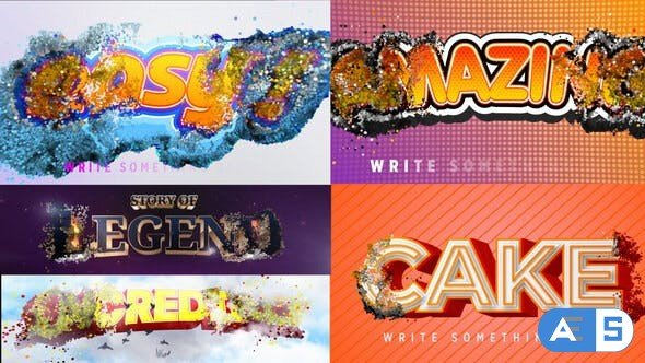 Videohive Simple Logo & Title Intro 28429183