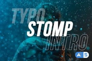 Videohive Typo Stomp Intro 28304216
