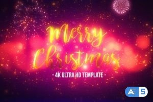 Videohive Christmas Titles 22780194